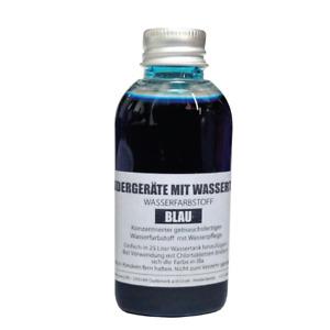Tankwasserfarbe Blau für Rudergerät wie Waterrower, Skandika + LevinQ Handschuhe