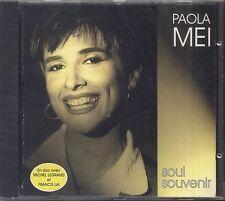 PAOLA MEI - Soul souvenir - MICHEL LEGRAND FRANCIS LAI CD SEALED SIGILLATO