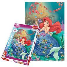 Trefl 260 Piece Kids Girls Disney Princesses Little Mermaid Jigsaw Puzzle NEW