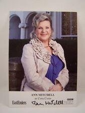 GENUINE HANDSIGNED ANN MITCHELL 'CORA CROSS' EASTENDERS FANCARD