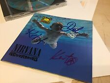 Nirvana Nevermind CD Signed By Kurt Cobain, Dave Grohl, Krist Novoselic With COA