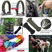 10m*4mm 7 stand Cores Paracord for Survival Lanyard Camping Climbing Ropes
