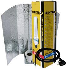 Elektrox 85-W 85-Watt Dual ESL CFL Pflanzenlampe inkl Reflektor Energiesparlampe