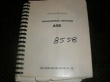 Makino A55 Parts Manual