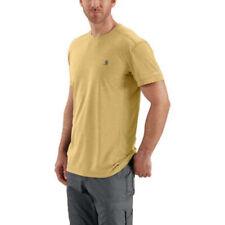 CARHARTT Force Extremes Short Sleeve T-Shirt YELLOW HEATHER 102960-720 MEDIUM
