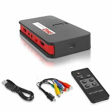 Sound Around Pyle Video Game Capture Card - AV Recorder Converter, HDMI Support,