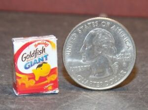 Dollhouse Miniature Food Box Cheese Crackers 1:12 inch scale B41 Dollys Gallery