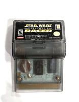 STAR WARS: EPISODE I- RACER Nintendo Gameboy Color Game Tested w/ Battery Cover!