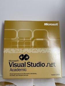 Microsoft Visual Studio.net Academic Version 2003