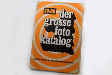 der grosse foto katalog 79/80, Angebot des deutschen Fotohandels GFW-Düsseldorf