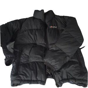 Boys Black Berghaus Puffer Jacket - Size 11 - 12 Years