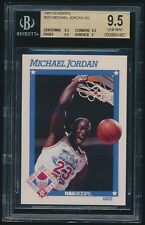 1991-92 Hoops #253 Michael Jordan AS All-Star BGS 9.5