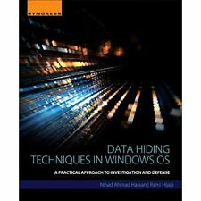 Daten ausblenden Techniken in Windows OS: praktisches Zusam-Taschenbuch NEU Nihad AH