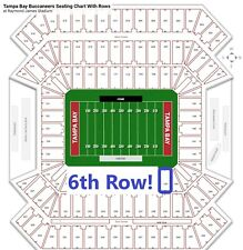 4 Tickets Tampa Bay Buccaneers vs Tennessee Titans 8/21/21 - Section 139 Row F