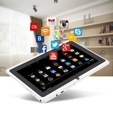 """7"""" Unlocked WIFI White PAD Tablet PC Android 4.4 Quad Core 8GB Dual Cameras"""