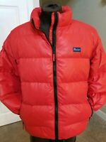 Men's Penfield Outdoor Apparel DOWN PUFFER JACKET Red sz Large