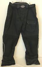 Men's Joe Rocket Black Motorcycle Pants Size XL