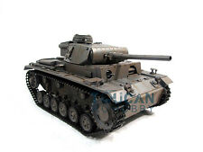 100% Metal Mato 1/16 Panzer III RC RTR Tank Model Infrared Version Gray 1223
