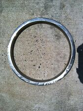 "14""x 1"" Stainless Steel Trim Ring Rally Wheel (1) Chrome Beauty Ring"