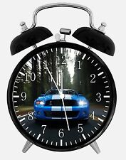 """Mustang Shelby GT Alarm Desk Clock 3.75"""" Home or Office Decor W201 Nice For Gift"""