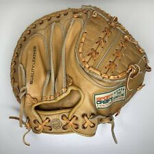 "Vintage SPORT CRAFT BASEBALL 11""  RHT CATCHERS' GLOVE 06504 Japan"