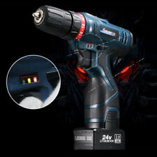 24V Electric Cordless Drill Screwdriver 2 Speed Power Driver Tools 0-1350 RPM UK