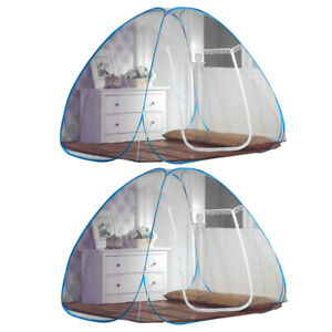 Fly Mosquito Insect Net Foldable Breathable Canopy Bed Outdoor Camping Bed Tent