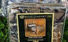 Natural GREEN CAMO SHEET SET!! TWIN 3 PC CAMOUFLAGE Brown; No Comforter