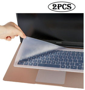 Waterproof Silicone Keyboard Transparent Cover Skin Macbook Pro Touch Bar Clear