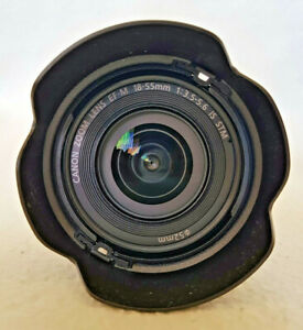 Canon EF-M 18-55mm f/3.5-5.6 STM IS Lens in MINT condition