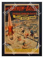 Historic Barnum & Bailey greatest show on earth 1890s Advertising Postcard