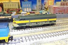 N-Scale Custom Painted  ONTARIO NORTHLAND F-UNIT  # 1519