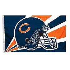 Chicago Bears 3 x 5 Helmet Flag-1039