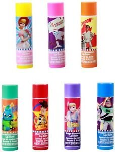 Toy Story 4 Disney Forky Wood and Friends 7 Pack Lip Balm in Multiple Flavors
