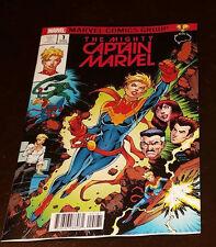 Mighty Captain Marvel #1 Brain Trust Variant Ms Marvel Homage Nauck *PRE-SALE*