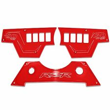 8 Switch Red 3pc Dash Panel Polaris RZR XP1000 900S 2015 Performance Upgrade SXS