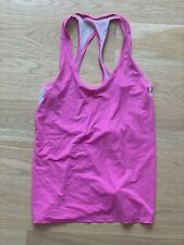 LULULEMON PINK White  TANK TOP WOMAN SIZE 4