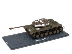 Tank IS-2 URSS (1943) WW2 - 1/43 IXO Deagostini Char Militaire TA06