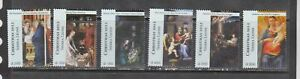 Sierra Leone 2012 art paintings christmas Italian masters set  MNH