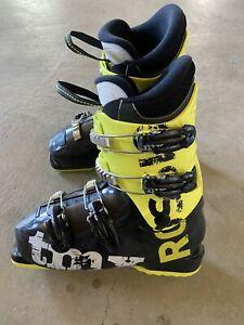 Youth Rossignol TMX Ski Boots Size 24.5 Men's Size 6.5 EUC!