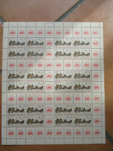 DDR Zusammendruckbogen Nr. 2965 + 2966 postfrisch - ansehen!!!!!