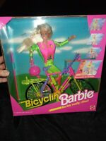 1993 Mattel BICYCLIN BARBIE Pedals By Herself #11689 NEW NRFB