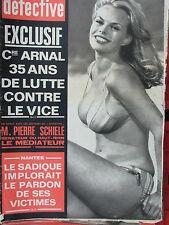 Détective n°1389 (22 /3/1973) La servante devenue baronne - Pierre Schiele