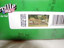 Bachmann 45977 Plasticville U.S.A. Kit Loading Platform Crossing Shanty O-27 New