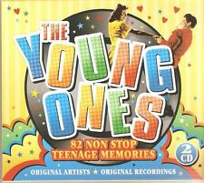THE YOUNG ONES 2 CD BOX SET - 82 NON STOP TEENAGE MEMORIES