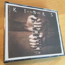 THE KINKS To The Bone 2 CD SET Live Guardian Records RARE
