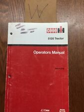 International 5120 Tractor Operator's Manual
