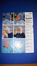 Hayfield Boy's Girl's Little Helmets knitting Pattern 1078