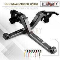 CNC Long Adjustable Brake Clutch Levers for Honda CBR1100XX / BLACKBIRD 1997-07