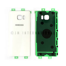 Samsung Galaxy Note 5 N920 White Glass Back Cover Housing Battery Door USA